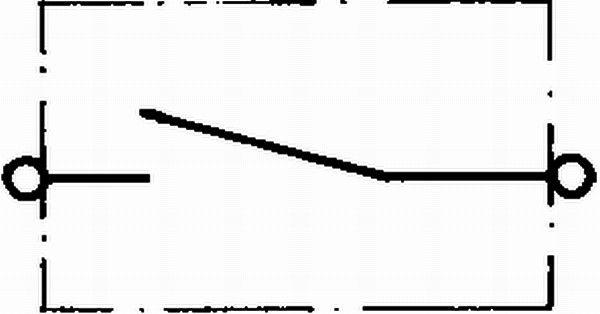 HELLA 6EK 002 843-121 Akun Pääkatkaisija