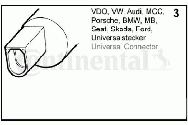 VDO 246-086-001-002Z Ajovalojenpesu-pumppu